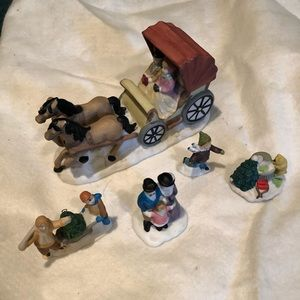 Christmas village accessories